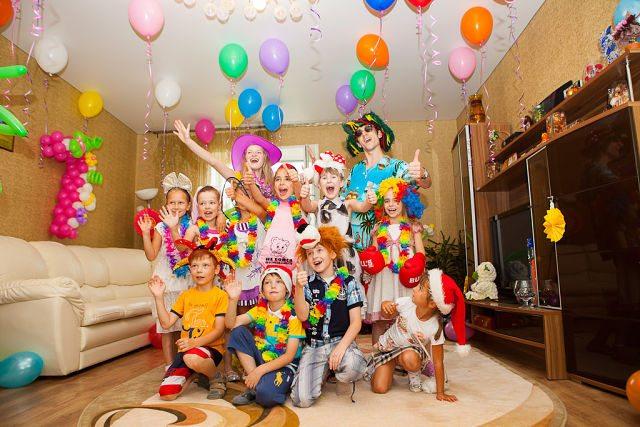 Детские сценарии на день рождения в домашних условиях